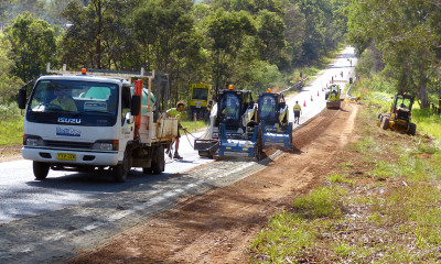 northpipe   road stabilisation